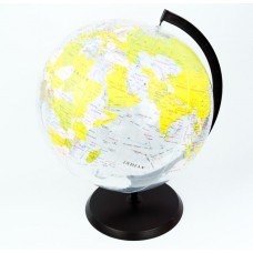 Inflatable Globe , 38cm with stand