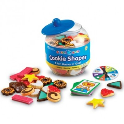 Goodie Games™ - Cookie Shapes, Set of 81