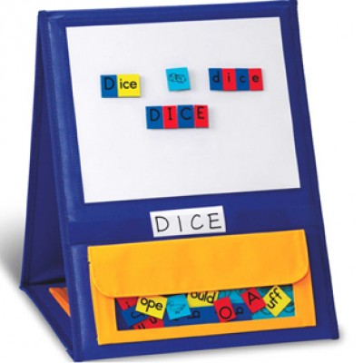 Magnetic Double-Sided Tabletop Pocket Chart