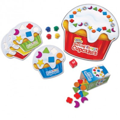 Smart Snacks® Sorting Shapes Cupcakes™ Game