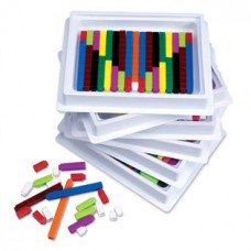Connecting Cuisenaire® Rods Multi-Pack, Six Sets of 74 Rods