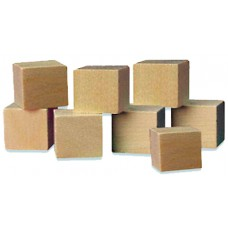 Plain Wooden Cubes