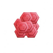 1g Plastic Hexagon Weight(1g weight,set/100)