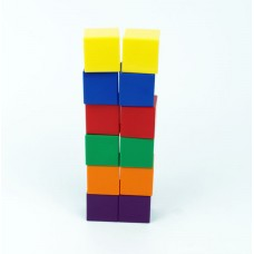 Colour Cubes, 2.5cm , Set of 102 Pieces