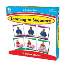 Learning to Sequence 3-Scene Board Game